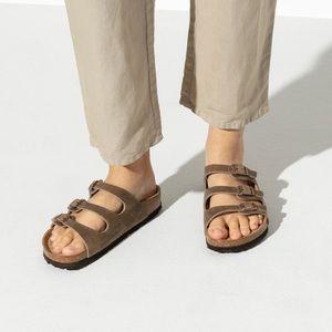 Birkenstock Betula Florida Brown Sandals Leather